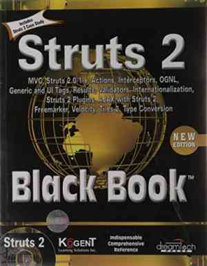 Buy Struts 2 Black Book, 2Nd Ed by Kogent Solutions Inc. online in india - Bookchor   9788177228700