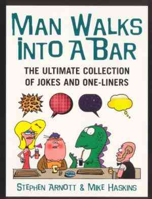 Buy Man Walks into a Bar by Mike Haskins online in india - Bookchor | 9780091897659