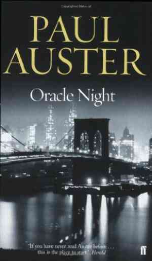 Buy Oracle Night by Paul Auster online in india - Bookchor | 9780571216970