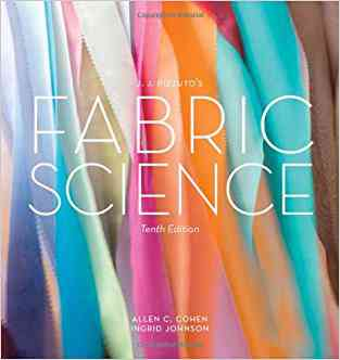 Buy Jj Pizzutos Fabric Science 10th Edition by Allen C. Cohen online in india - Bookchor | 9781609013806