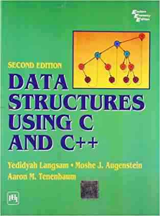 Buy Data Structures Using C And C++ by Langsam online in india - Bookchor | 9788120311770