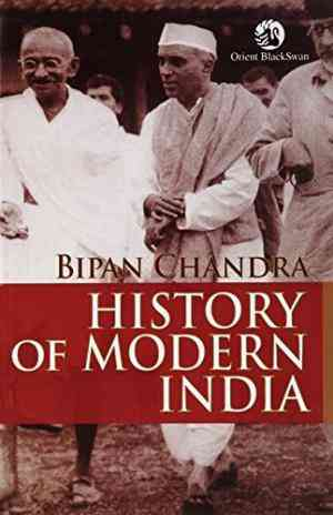 Buy History Of Modern India by Bipan Chandra online in india - Bookchor | 9788125036845