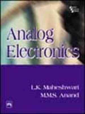 Buy Analog Electronics by Maheshwari online in india - Bookchor | 9788120327221