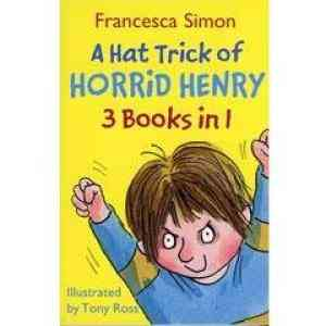 Buy A Hat Trick Of Horrid Henry by Francesca Simon online in india - Bookchor | 9781407219783