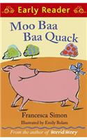 Buy Moo Baa Baa Quack by Emily Bolam Illustrated , Francesca Simon online in india - Bookchor   9781444002096