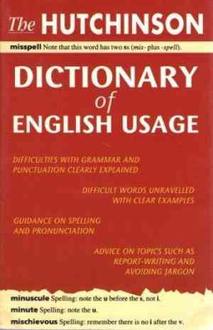 Buy Hutchinson Dictionary Of English Usage by Bram Stoker online in india - Bookchor   9780753711194