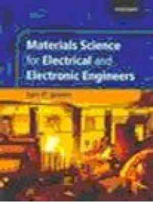 Buy Materials Science for Electrical and Electronic Engineers by Ian Jones online in india - Bookchor | 9780195691634