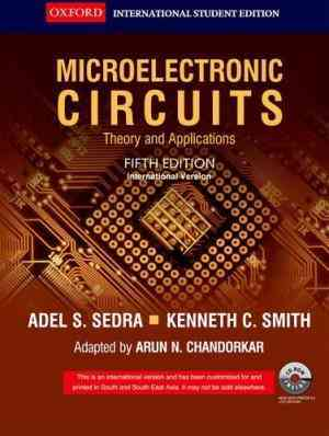 Buy Microelectronic Circuits: Theory And Applications, 5th Edition by Sedra online in india - Bookchor | 9780198062257