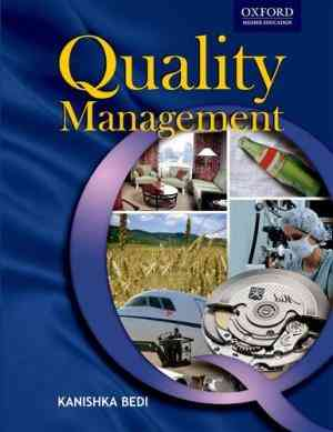 Buy Quality Management by Kanishka Bedi online in india - Bookchor   9780195677959