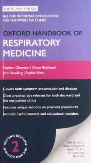 Buy Oxford Handbook Of Respiratory Medicine, 2nd Edition by Stephen J.Chapman online in india - Bookchor | 9780199581214