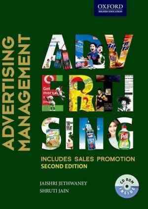 Buy Advertising Management [With CDROM] by Jaishri Jethwaney online in india - Bookchor   9780198074120