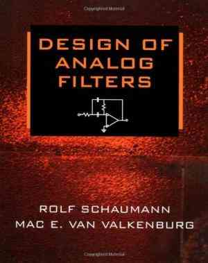Buy Design of Analog Filters by Rolf Schaumann online in india - Bookchor | 9780195118773