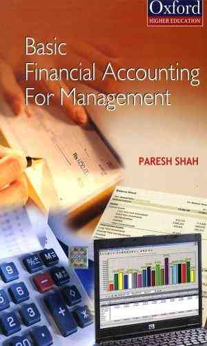 Buy Financial Accounting for Management by Paresh Shah online in india - Bookchor   9780195690095