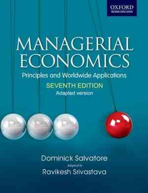 Buy Managerial Economics by Salvatore online in india - Bookchor | 9780198075349