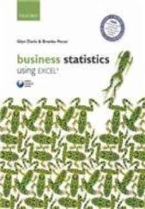 Buy Business Statistics Using Excel PB by Ph.D. David J. Lieberman online in india - Bookchor | 9780199646609