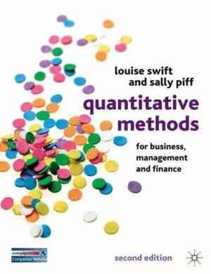 Buy Quantitative Methods for Business, Management and Finance by Swift L online in india - Bookchor | 9781403935281