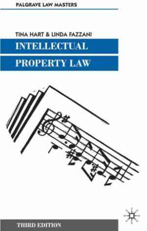Buy Intellectual Property Law by Tina Hart online in india - Bookchor   9781403911797