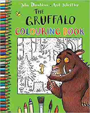 Buy Gruffalo Colouring Book by Julia Donaldson , Axel Scheffler Illustrated online in india - Bookchor | 9780230708594