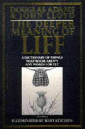 Buy Deeper Meaning of Liff by Douglas Adams online in india - Bookchor   9780330322201