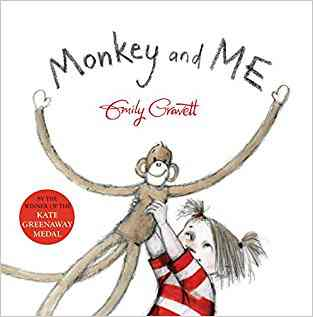 Buy Monkey and Me by Emily Gravett online in india - Bookchor | 9780230015838