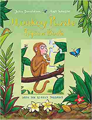 Buy Monkey Puzzle Jigsaw Book by Julia Donaldson online in india - Bookchor   9780230707658