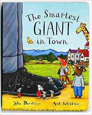 Buy Smartest Giant in Town by Julia Donaldson online in india - Bookchor   9780230749368