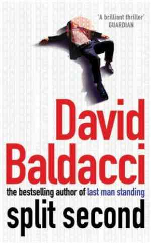 Buy Split Second by David Baldacci online in india - Bookchor   9780330411721