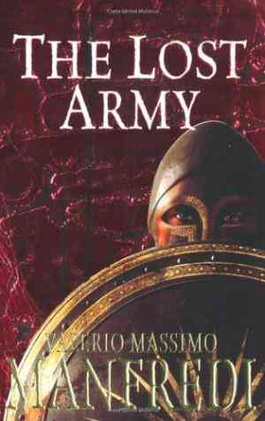 Buy Lost Army by Valerio Massimo Manfredi online in india - Bookchor   9780330452793