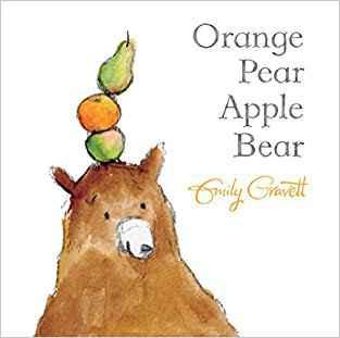 Buy Orange Pear Apple Bear by Emily Gravett online in india - Bookchor   9780330512671