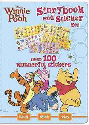 Buy Disney Winnie the Pooh Sticker Storybook Set by Hannah Montana online in india - Bookchor   9781445413631