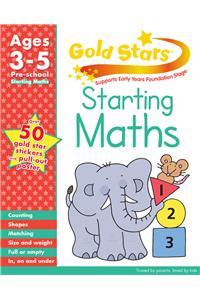 Buy Gold Stars Starting Maths Preschool Workbook by Hannah Montana online in india - Bookchor | 9781445477657