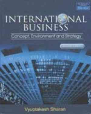 Buy Internatioanl Business by Sharan online in india - Bookchor   9788177581744