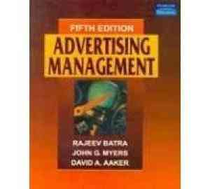 Buy Advertising Management by Batra online in india - Bookchor   9788177588507