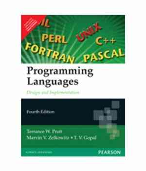 Buy Programming Languages by Pratt online in india - Bookchor   9788177586886