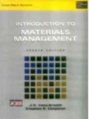 Buy Introduction To Materials Management by J.R. Tony Arnold online in india - Bookchor   9788131700471
