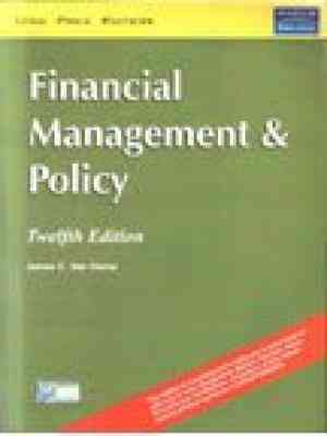 Buy Financial Management & Policy 12Th Edition by Vanhorne online in india - Bookchor | 9788131706831