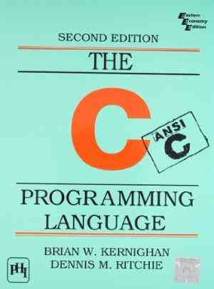 Buy The C Programming Language (Ansi C Version) by Kernighan Brian W , Ritchie Dennis M online in india - Bookchor   9788120305960