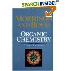 Buy Organic Chemistry, 6E by Boyd online in india - Bookchor   9788120307650