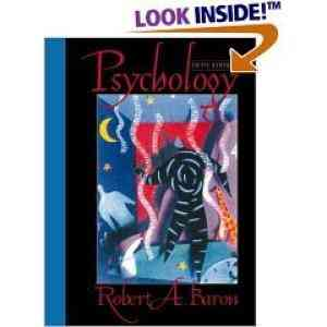 Buy Psychology, 5E by Baron online in india - Bookchor   9788120323353