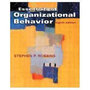 Buy Essentials Of Organizational Behavior, 8E by Robbins online in india - Bookchor | 9788120327061