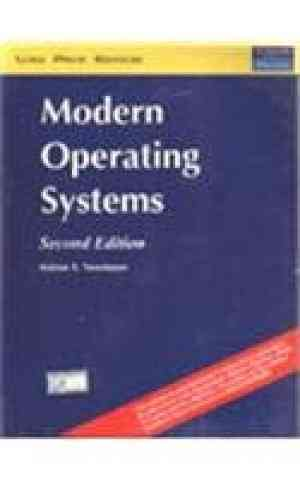 Buy Modern Operating Systems, 2e by Tanenbaum online in india - Bookchor | 9788131701768