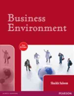 Buy Business Environment by Shaikh Saleem online in india - Bookchor   9788177583502