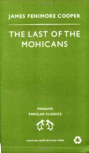 Buy Last of the Mohicans by James Fenimore Cooper online in india - Bookchor   9780140620450