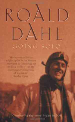Buy Going Solo by Roald Dahl online in india - Bookchor   9780140103069