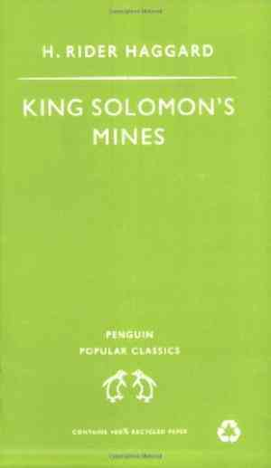 Buy King Solomons Mines by H. Rider Haggard online in india - Bookchor | 9780140621235