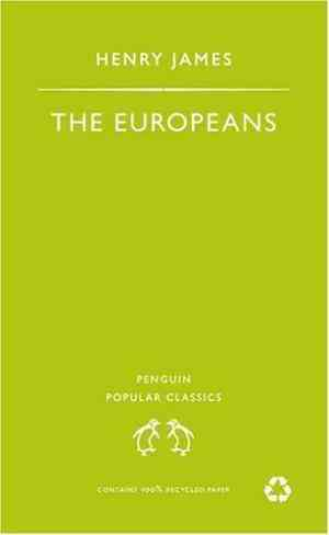 Buy The Europeans by Henry James online in india - Bookchor   9780140621952
