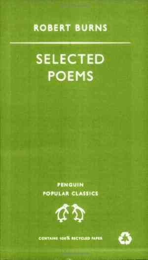 Buy Selected Poems by Robert Burns online in india - Bookchor | 9780140622003