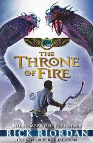Buy The Kane Chronicles: The Throne of Fire by Rick Riordan online in india - Bookchor | 9780141335667