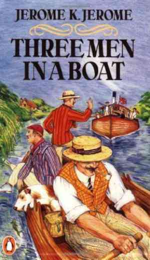 Buy Three Men in a Boat by Jerome K. Jerome online in india - Bookchor | 9780140012132