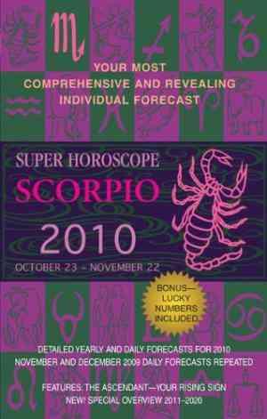 Buy Super Horoscope Scorpio: October 23 November22 by Margarete Beim online in india - Bookchor | 9780425226582